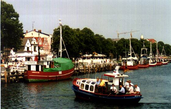 Warnermuende Harbor