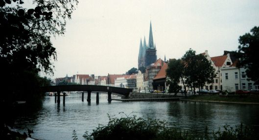 Cathedral in Lubeck
