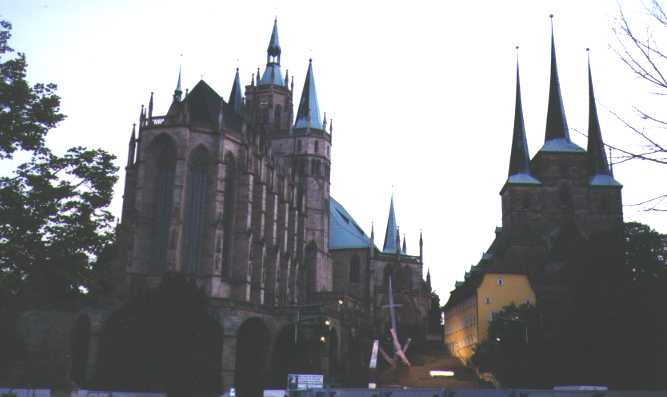 Cathedral in Erfurt